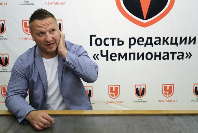 Дарюс Каспарайстис в гостях у «Чемпионата»