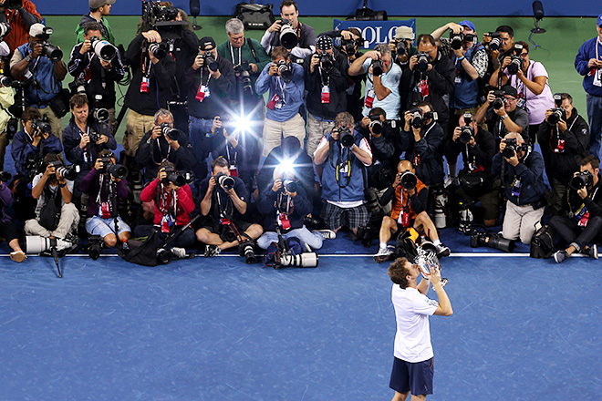 Энди Маррей победил на US Open