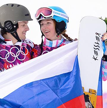 Виктор Иванович Уайлд со своей супругой Алёной Заварзиной
