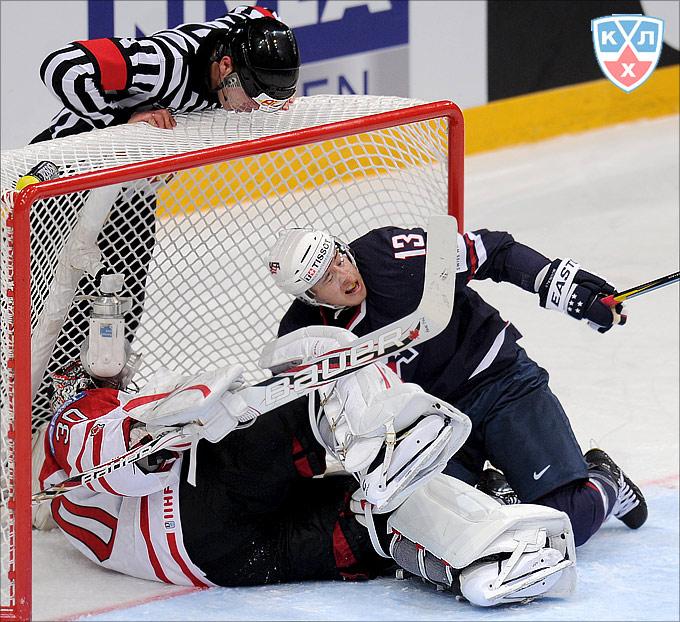 5 мая 2012 года. Хельсинки. Чемпионат мира. Группа А. Сборная США — Сборная Канады — 5:4 (ОТ)