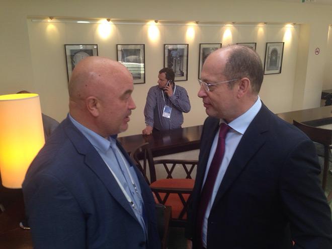 Айрат Гараев и Сергей Прядкин
