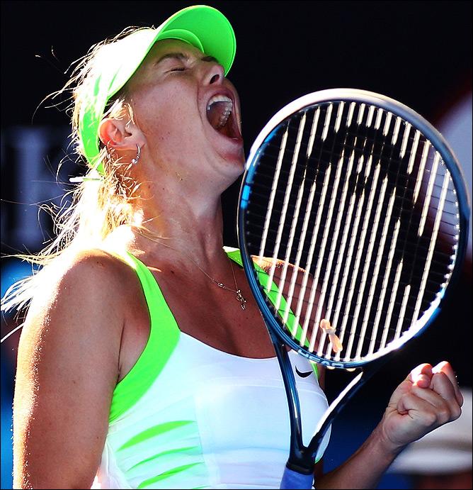 Мария Шарапова в третий раз вышла в финал Australian Open