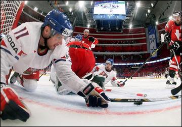 6 мая 2013 года. Стокгольм. Чемпионат мира. Групповой турнир. Швейцария — Чехия — 5:2