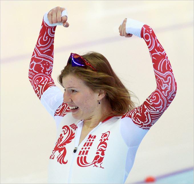 Серебряная медаль Ольги Фаткулиной в конькобежном спорте