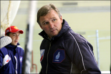 Новый тренер ТХК Алексей Ждахин