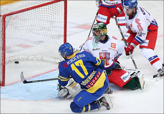 16 декабря 2012 года. Москва. Кубок Первого канала. Чехия — Швеция — 0:4