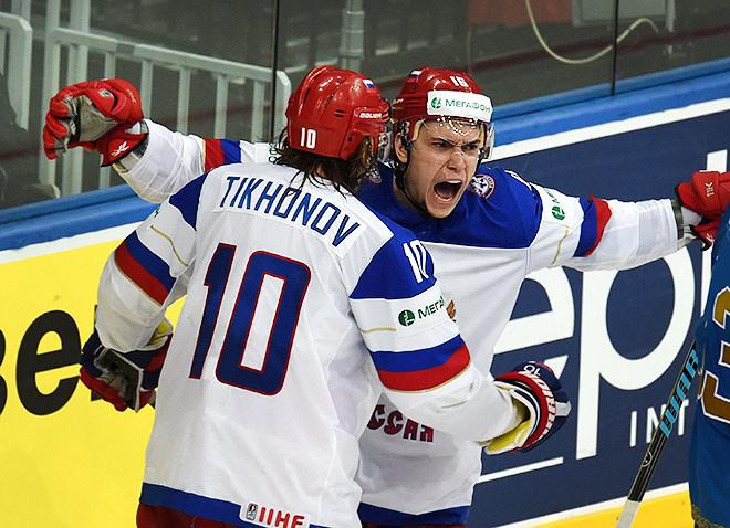 Виктор Тихонов и Сергей Плотников