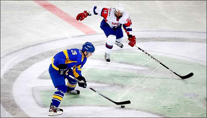 19 апреля 2012 года. Любляна. Чемпионат мира, дивизион I. Словения — Украина — 3:2