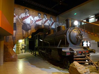 """В 30-е годы прошлого столетия """"Ривер"""" называли """"Машиной"""" и ассоциировали с паровозом"""