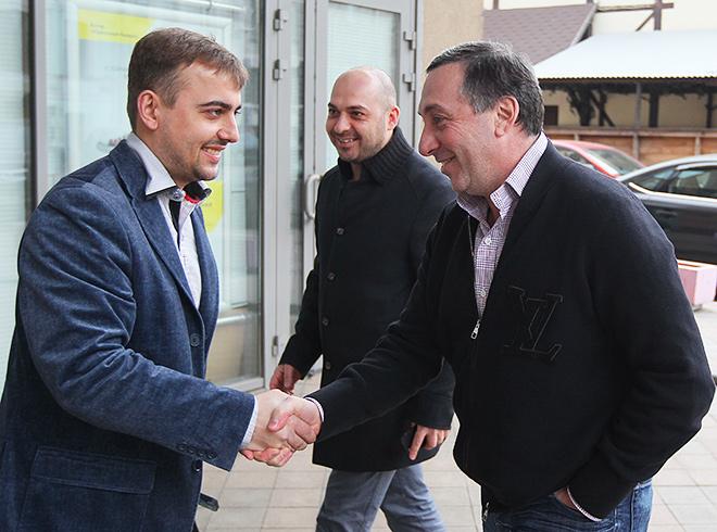 Денис Целых, Самвел Авакян и Евгений Гинер