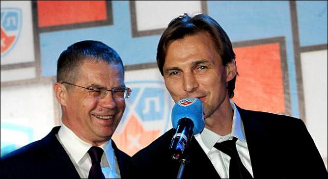 Александр Медведев и Сергей Федоров