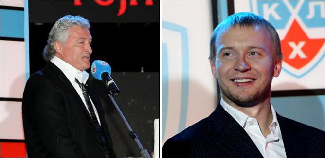 Милош Ржига и Андрей Первышин