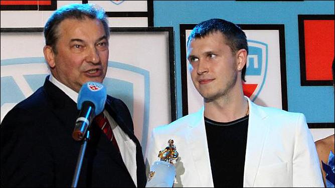 Владислав Третьяк и Константин Барулин