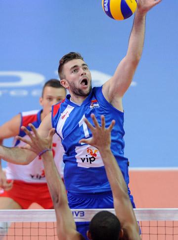 Звезда сербской команды Урош Ковачевич