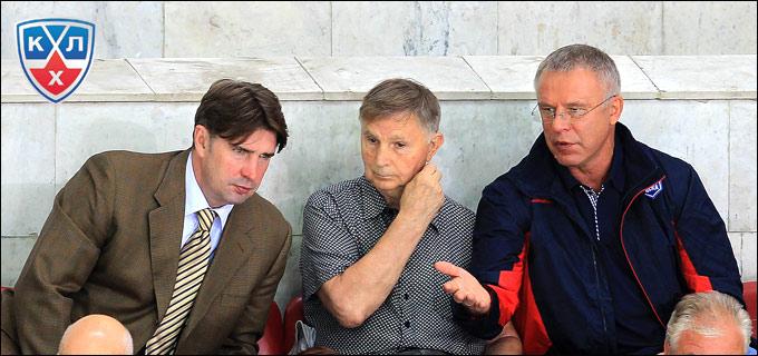 Алексей Касатонов, Виктор Васильевич Тихонов и Вячеслав Фетисов