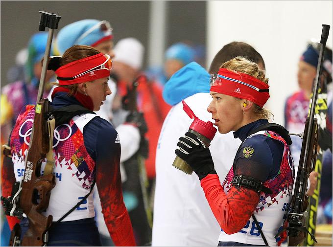 Российские биатлонистки выступили неудачно