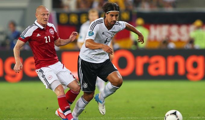 Дания — Германия