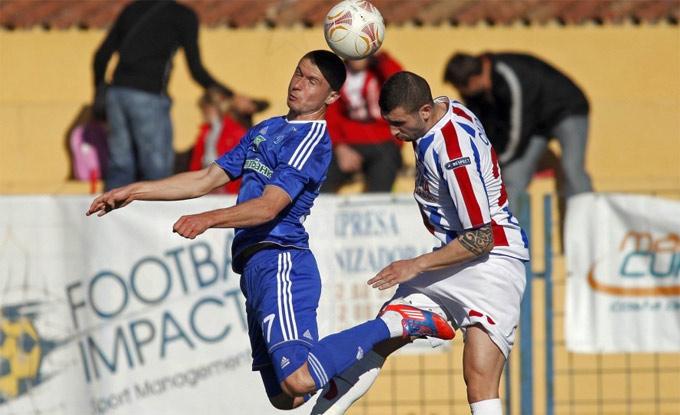 Цуриков забил единственный гол в матче