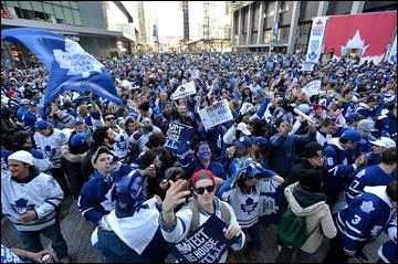 Майское безумие в Торонто. Плей-офф впервые за девять лет