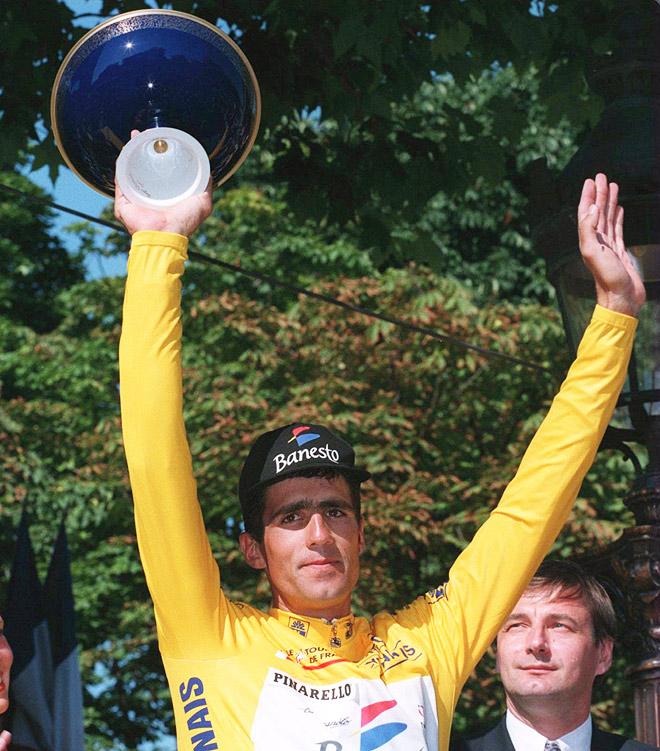 Трофей образца 1995 года. Последний, выигранный в «Туре»
