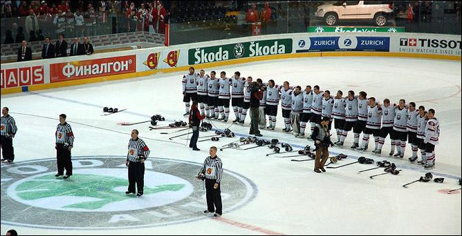 Соперник-06. Сборная Латвии. Фото 01.