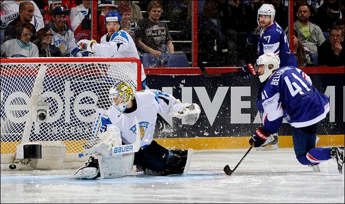 6 мая 2013 года. Хельсинки. Чемпионат мира. Групповой турнир. Финляндия — Франция — 3:1