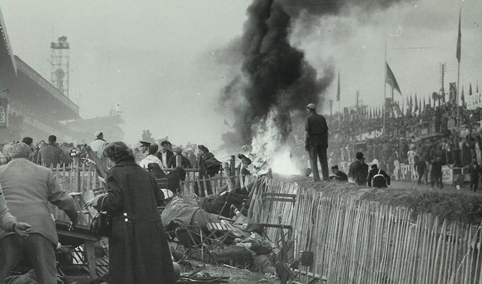 """Ужасная авария на """"24 часах Ле-Мана"""" 1955 года"""