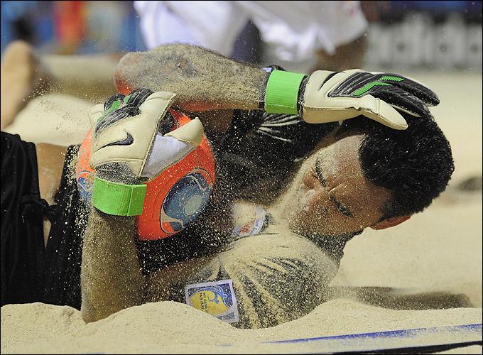 Вратари на мундиале съели не один пуд песка