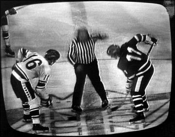 Хоккей был желанным гостем на советском Центральном телевидении