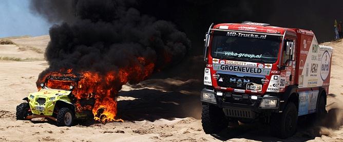 """""""Дакар"""" был богат на пожары"""