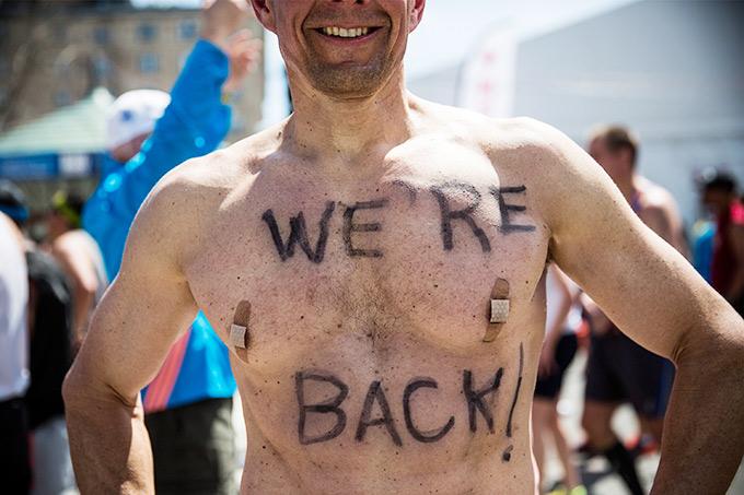 """""""Мы вернулись на бостонский марафон""""!"""