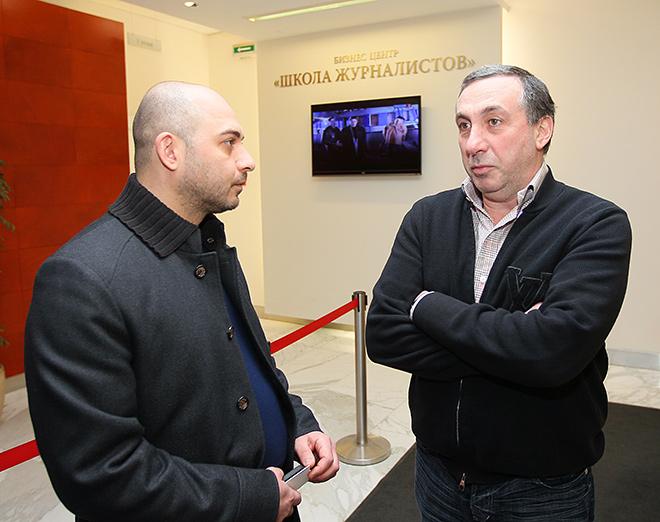 Самвел Авакян и Евгений Гинер