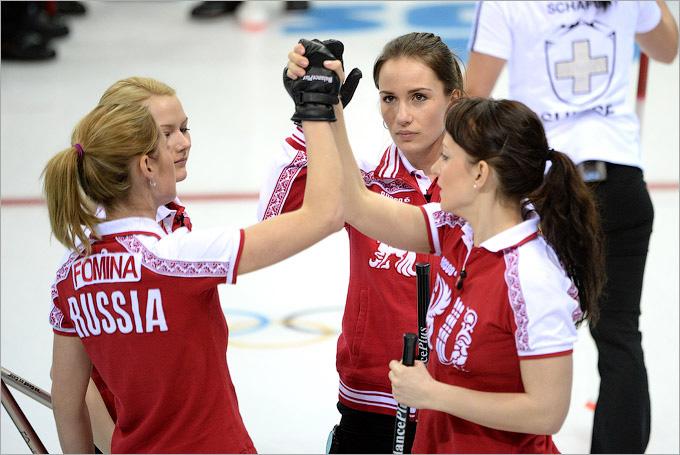 Россиянки одержали важную победу в кёрлинге