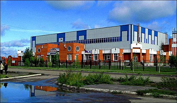 """Ледовый дворец, в котором будет принимать гостей Молодежная команда """"Зауралья"""""""