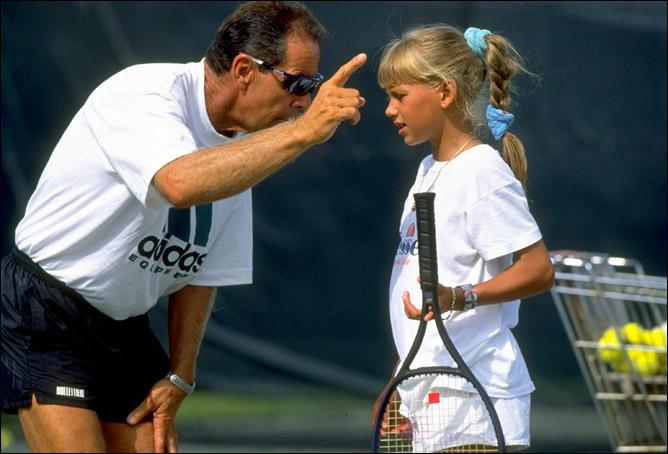 1990 год. Ник Боллетьери и Анна Курникова