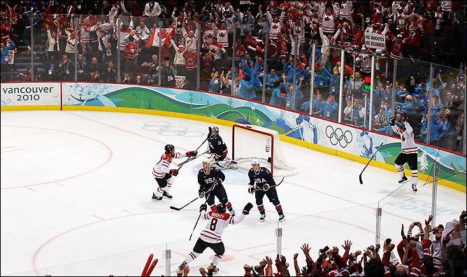 Главное событие 2010 года – Зимние Олимпийские игры в Ванкувере. Решающий гол Сидни Кросби