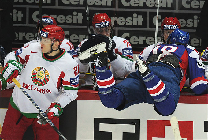 12 мая 2012 года. Хельсинки. Чемпионат мира. Групповой турнир. Словакия — Белоруссия — 5:1