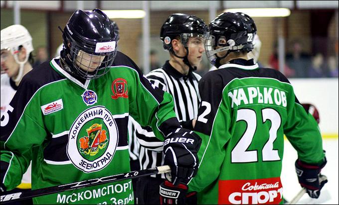 """Итоги сезона. МХЛ-Б. ХК """"Зеленоград"""". Итоговое место: 8-е"""