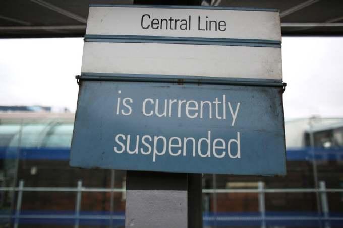 Центральная линия закрыта. Добирайтесь как хотите