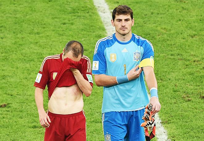 Испанцы сложили чемпионские полномочия