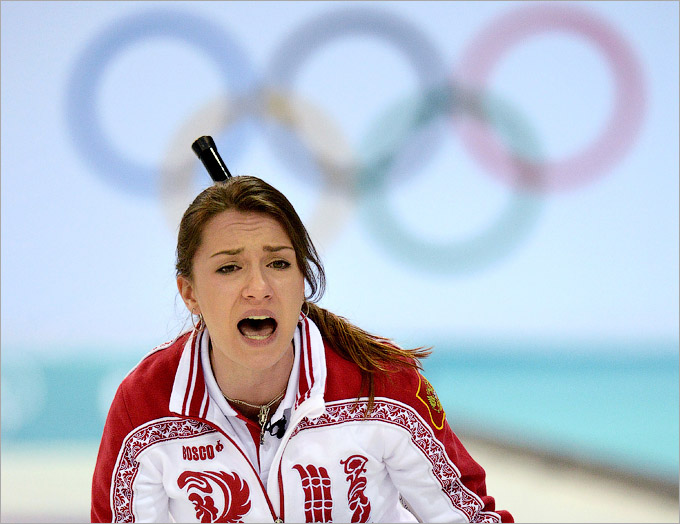 Второе поражение женской сборной России по кёрлингу
