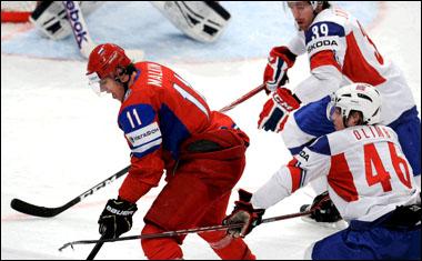 Евгений Малкин против сборной Норвегии