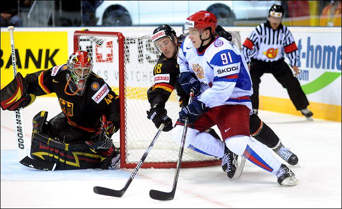 Владимир Тарасенко против сборной Германии