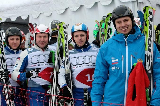 Мужская сборная по ски-кроссу до финала не добралась