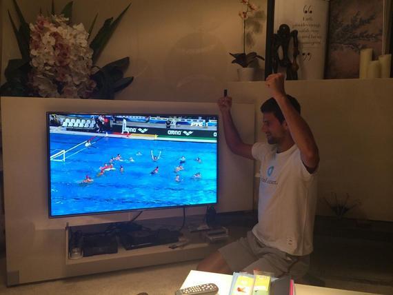 Новак Джокович поздравил сборную Сербии по водному поло