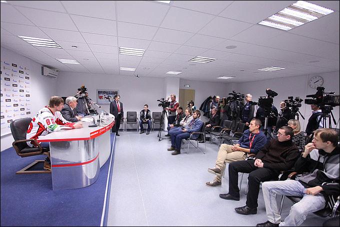 Пресс-конференция Олега Пигановича и Александра Стерлягова