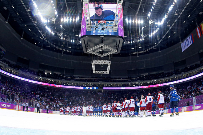 Олимпиада. Сочи. Россия — Финляндия