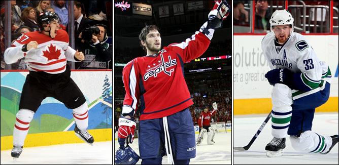 Трофеи НХЛ-2010. Фото 18.