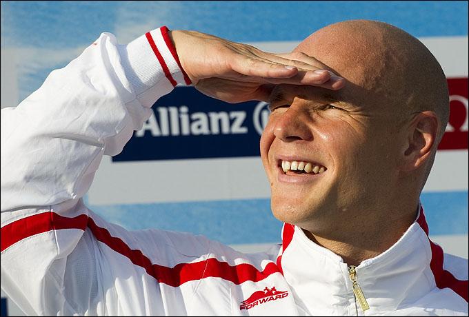 Капитан российской сборной Евгений Коротышкин поведёт своих партнёров на штурм лондонского пьедестала