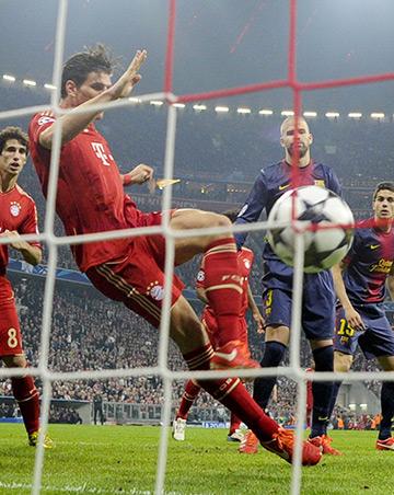 Марио Гомес — лучший бомбардир в новой истории Лиги чемпионов среди немецких футболистов